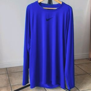 Nike long sleeve running shirt L